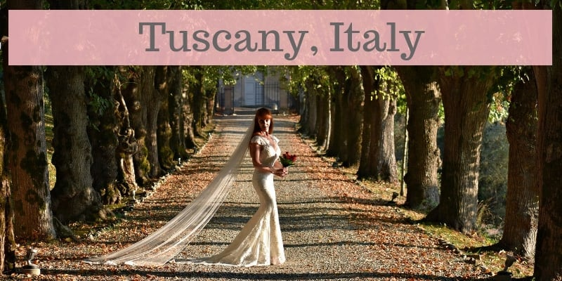 Wandering Wedding Dress In Tuscany Blog Post By Tegan Marshall