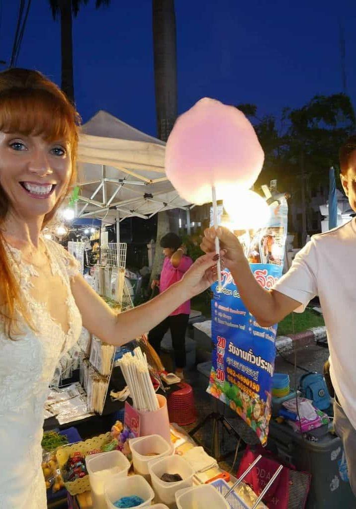 Sugar Candy At The Chiang Mai Night Markets