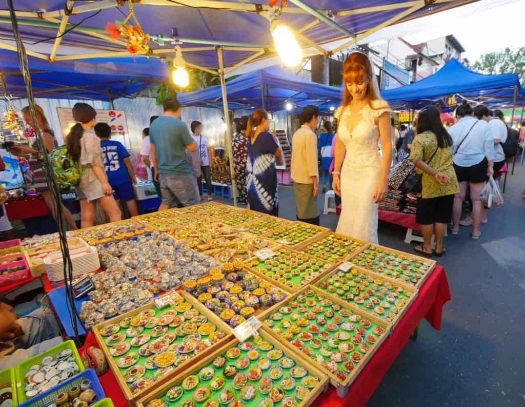 Tegan Marshall At The Chiang Mai Night Markets