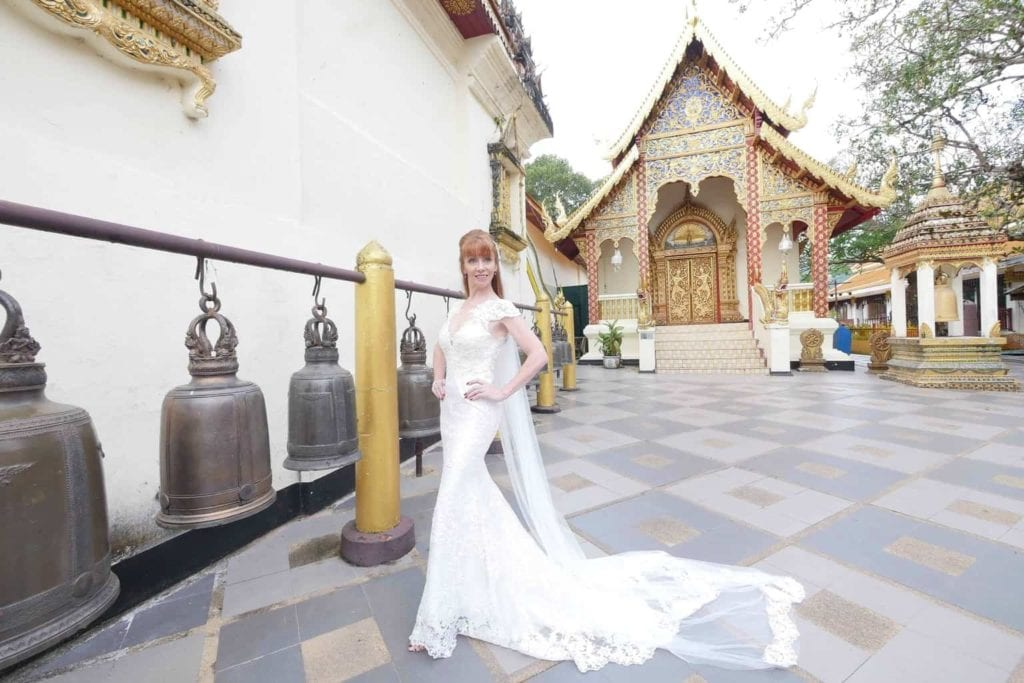 The Budhist Bells In Chiang Mai Temple