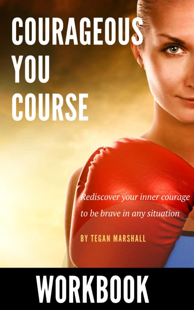 Courageous You Course Workbook Cover Image
