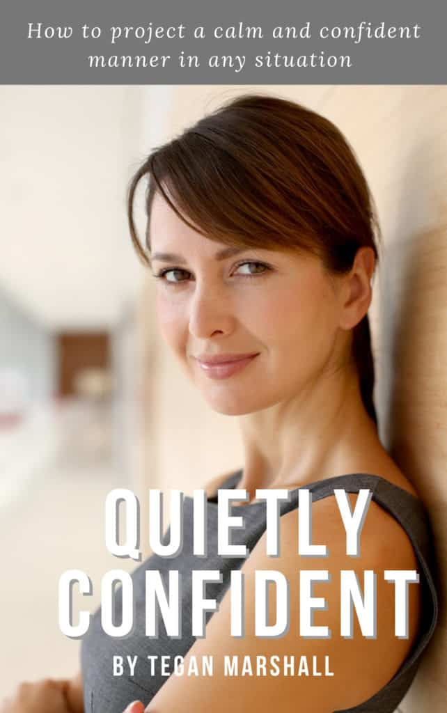 Quietly Confident By Tegan Marshall Ebook Cover