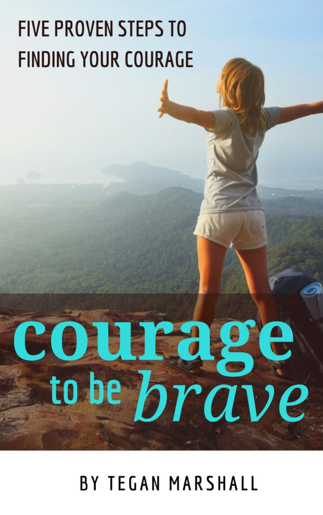 Courage To Be Brave By Tegan Marshall Cover Min