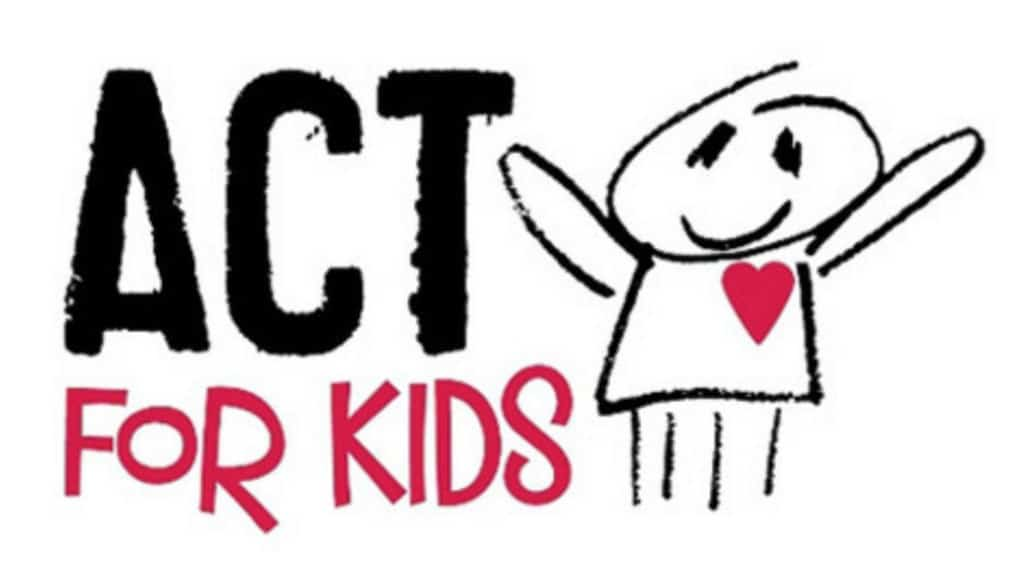 Act For Kids Charity Supported By Tegan Marshall Donating 50 Percent Of All Sales From Facing Fears Website