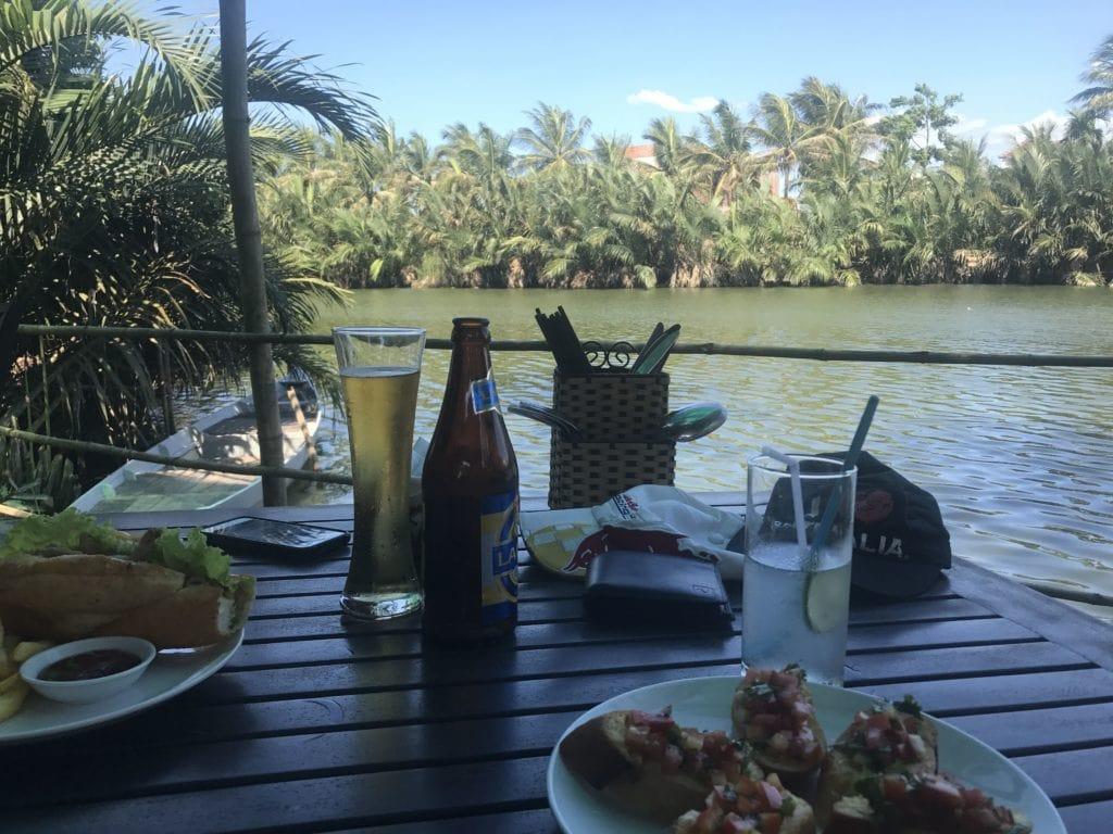 Lunch Riverside In Hoi An Vietnam