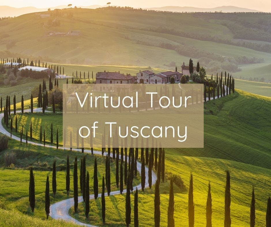 Courage To Travel Virtual Tour Of Tuscany Fb Image