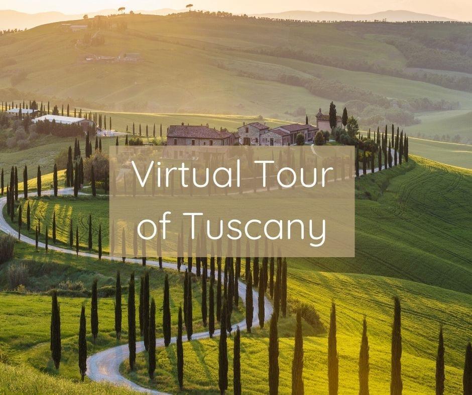 Courage To Travel Virtual Tour Of Tuscany Fb Image