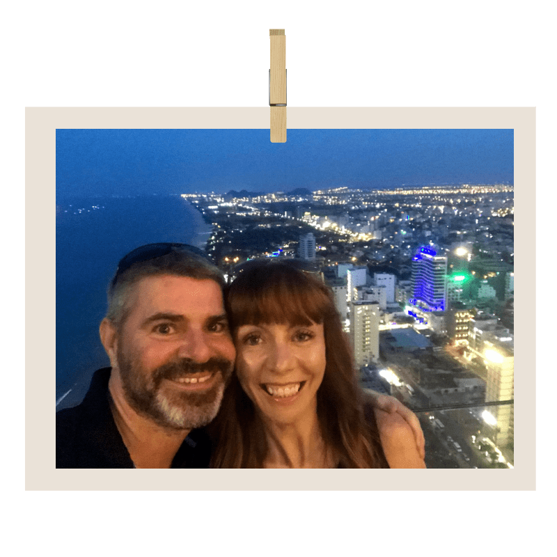 Tegan And Clark Of Courage To Travel In Panang Thailand At Night