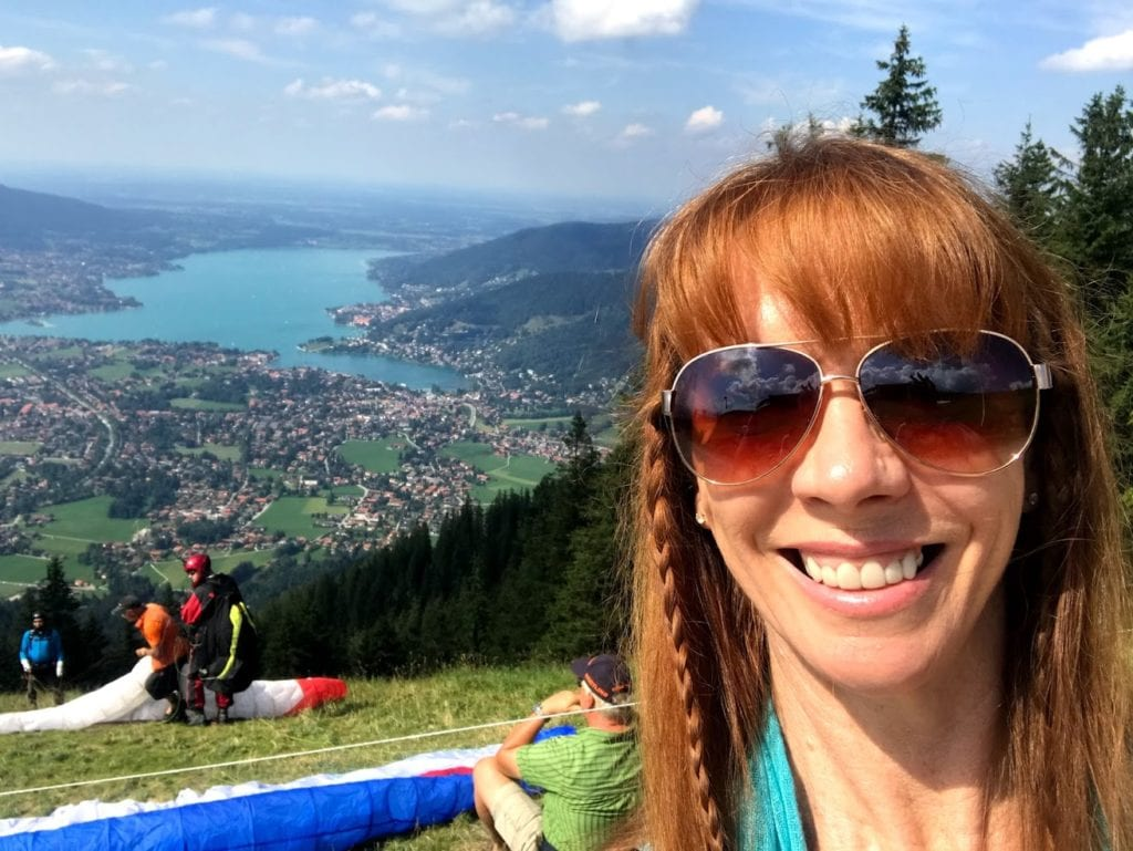 Parasailing In Bavaria Germany