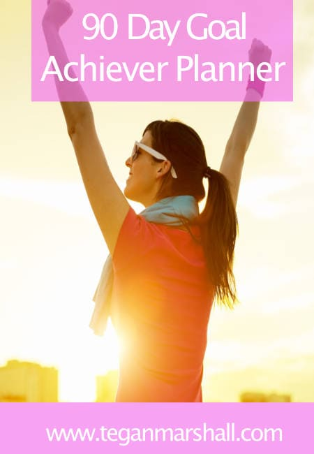 Final 90 Day Goal Achiever Planner Cover