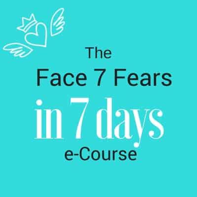 Face 7 Fears in 7 Days eCourse by Tegan Mathews