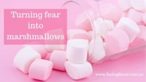 Facing Fears Blog - Turning fear into marshmallows