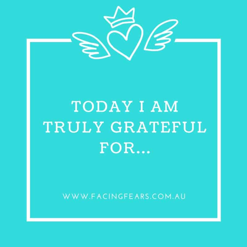 Today I am truly grateful for