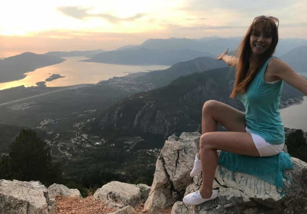 Tegan Marshall Blog Post On Best Business Habits For Success Main Image Of Tegan In Montenegro